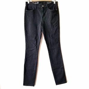 Madewell   Black High Riser Skinny Jeans 29x32